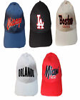 MENS BOYS ONE SIZE VELCRO BACK ADJUSTABLE BASEBALL CAP HAT LA LOS ANGLES LOGO
