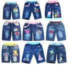 Frozen Elsa&Anna Princess/Sofia The First Princess/Mickey Mouse Kids Jeans Short