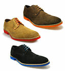 New Mens Red Tape Laxford Suede Leather Casual Dress Brogue Shoes Size 7-12 UK