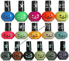 **HALLOWEEN Nail Polish Color GLOW IN THE DARK+REGULAR+GLITTER New! *YOU CHOOSE*