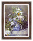 Spring Bouquet Pierre Auguste Renoir Painting Reproduction Framed Fine Art Print