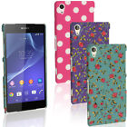Hard PC Plastic Case for Sony Xperia Z2 D6503 Skin Back Cover + Screen Protector