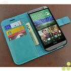 caseen Verizon HTC One M8 Luxury Leather Credit Card Wallet Stand Case Cover