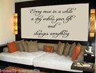 Every Once In A While A Dog Enters Your Life... Vinyl Wall Quote Decal 99090