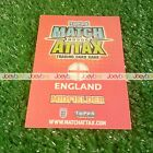 WORLD CUP 2010 INTERNATIONAL LEGENDS MATCH ATTAX ENGLAND 10 HUNDRED CLUB LTD