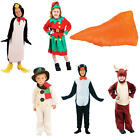 Childrens Chrstmas Facy Dress Costume Costumes Xmas Outfits All Sizes