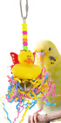 1469 ANGEL SHRED BIRD TOY parrot cage toys cages cockatiels budgies parrotlets