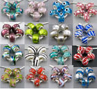 Lot 5Pcs Lovely Murano Glass Beadss Fit European Charms Bracelet An1501