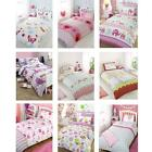 GIRLS BEDDING - SINGLE DUVET COVER SETS - NEW - FREE DELIVERY