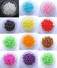 100pcs Round Cut Acrylic Jewelry Design Spacer BEADS - Choose 6MM 8MM 10MM 12MM