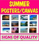 Summer prints, poster or canvas, high quality, 12 images available
