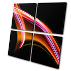 Abstract FunkyDesign MULTI CANVAS WALL ART Picture Print VA