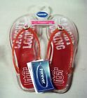 Sandals St Louis Cardinals MLB Women's Jelly Flip Flop Licensed Baseball Red