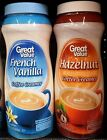 Great Value Non Dairy Powdered Flavored Coffee Creamer ~ One Bottle