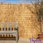 5m Long Willow Garden Screening Roll Screen Fencing Fence Panel Wood Wooden
