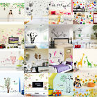DIY Removable Vinyl PVC Art Quote Kids Wall Stickers Decal Home Room Decor ②