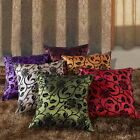 Flower Pattern Chic Home Office Sofa Taffeta Decor Pillowcase Case Cushion Cover
