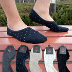 Men Low Cut Invisible No Show Cotton Dots Anti-Slip Sport Trainer Boat Socks