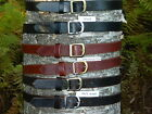 "Handmade Thick Leather Belt Men Woman 1 1/4"" Inch wide Black Brown Tan YOUR SIZE"