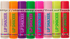*SMACKER* Lip Balm/Gloss ORIGINAL Fun Flavored *YOU CHOOSE* New Style Font 1/3