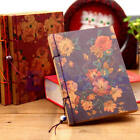 New Pour Vous Blooming Flowers Retro Vintage Journal Memo Diary Notepad Notebook