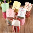 50pcs / bag Utility Cake Baking Paper Cup Cupcake Muffin Cases fit Home Party S