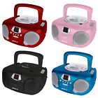 Portable CD Player, Radio, Aux Input ideal for Kitchen, Bedroom, Office, Garage