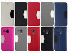 For Motorola Moto G Premium Leather 2 Tone Wallet Case Pouch Flip Cover