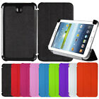 """Slim Book PU Leather Stand Case For Samsung Galaxy Tab 3 7"""" P3200 P3210 T210"""
