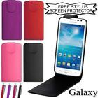 LEATHER FLIP CASE FOR SAMSUNG GALAXY MOBILE PHONE PROTECTIVE COVER POUCH WALLET