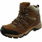 Northwest Waterproof Walking Hiking Ankle Tan Lace Up Leather Boots Size 6 7 8