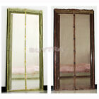 OD Door Exit Anti Mosquito Bug Magnet Auto Closing Curtain Mesh Net Tent BarCAS☆