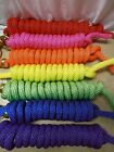 10' Horse Pony Training Poly Lead Rope Line Brass Bolt Snap Choice of Color