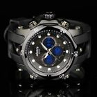 INFANTRY Mens Digital Analog Wrist Watch Police Style Sport Army Black Rubber image