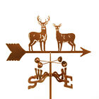 Standing Deer Weathervane - Whitetail? Mule? Buck and Doe - with Choice of Mount