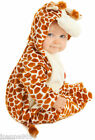 DELUXE BOYS GIRLS BABY GROW TODDLER CUTE ANIMAL GIRAFFE ZOO FANCY DRESS COSTUME