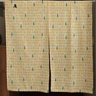 Japanese Pineapple Fish Door Curtain Chinese Doorway Hallway Vestibule Cotton