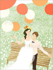 "Poster / Leinwandbild ""High angle view of newlywed couple sitting ..."" - E. Inc."