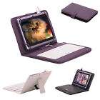 "iRulu X1 7"" Tablet 8GB Android 4.2 Dual Core Cam 1.5 GHz WIFI Purple w/ Keyboard"