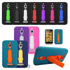 Impact Stand Hybrid Shockproof Gel Case Cover For Alcatel One Touch Phones