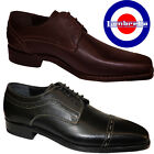 Lambretta Goodyear Welt Footwear Leather Upper and Sole Casual Lace Up Mens New