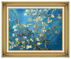 Almond Tree Blossom in Bloom by Vincent van Gogh Painting Repro Framed Art Print