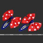 2pc Butterfly Polka Dot Allgator Clip Hairpin Child Student Hair Accessories