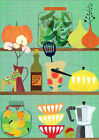 Poster / Leinwandbild kitchen shelf 02 - Elisandra