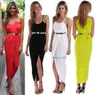 Sexy Women Bandage Halter Skirt Dress Sleeveless Beach Nightclub Party Cocktail