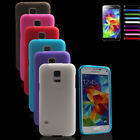 Thin Crystal Clear Soft Gel Silicone Case Cover For Samsung Galaxy S5 Mini G800H