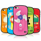 HEAD CASE TOY GADGETS HYBRID TPU CASE COVER FOR APPLE iPHONE 5S