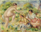 Poster / Leinwandbild Young Girls in the Countryside - Pierre-Auguste Renoir