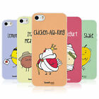 HEAD CASE YUMMY DOODLE TPU REAR CASE COVER FOR APPLE iPHONE 5