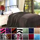 Super-Solf  Cozy & Comfy High Quality Microplush Multi Color and Style Blankets